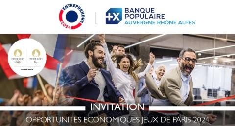 Opportunités économiques Jeux de Paris 2024 – Invitation Wébinaire